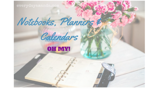 Notebooks, Planners & Calendars. What's your choice?