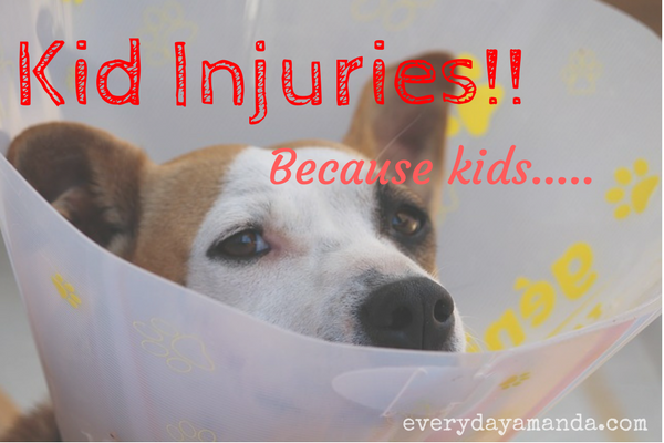 Kid injuries. Because kids. They get hurt. Alot.